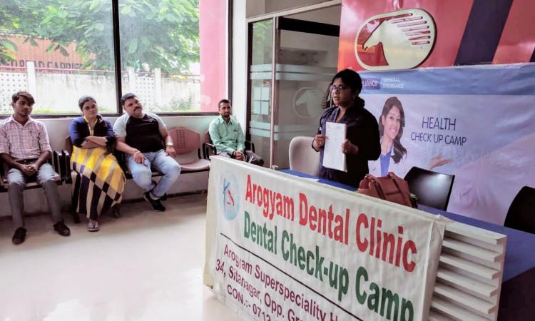 Dental Check-up Camp - April 2021